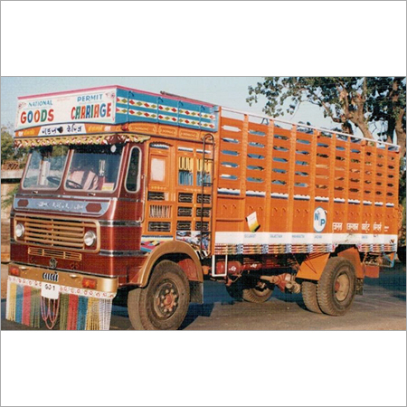 6 Wheels Truck Body in   Near IOC Petrol Pump