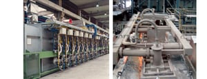 Roller Hearth Furnaces For Pipes Bars
