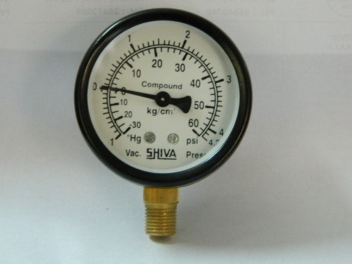 Compound Gauge 3 Inch Dial