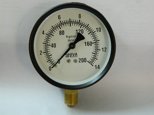 Fine Finish Pressure Gauge