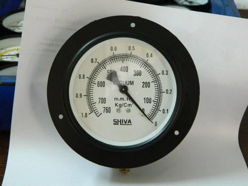 Vacuum Gauge 4 Inch Dial Panel Mount