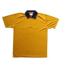 Yellow Promotional T-Shirt in  Shidipura