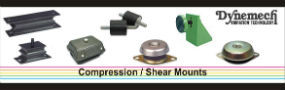 Anti Vibration Compression Shears Mount