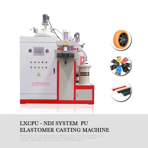 High Temperature Polyurethane Elastomer Casting Machine For Castor