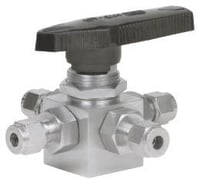 Ball Valve With Flanged Ends SAE ISO