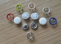 Coated Snap Buttons