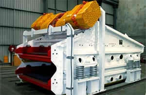 Heavy Duty Exciter Driven Linear Motion Screens