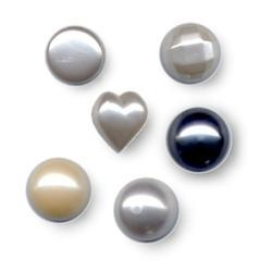 Polyester Pearl Buttons