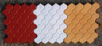 Scorpio Shape 30 MM Thick Designer Tiles