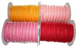 Yarn Dyed Velvet Tapes