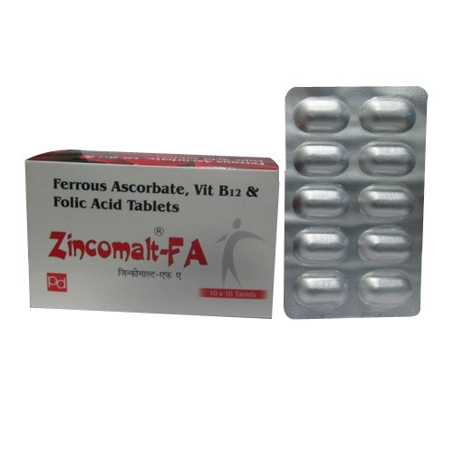 Ferrous Ascorbate - Vit B12 and Folic Acid Tablet in   Zirakpur