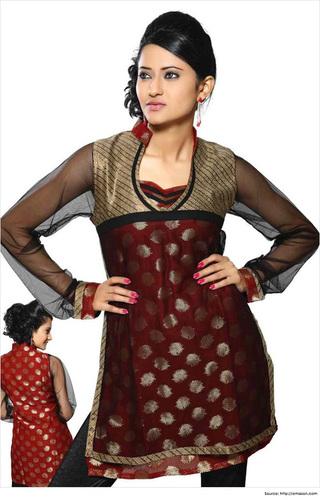 Fashionable Collar Neck Designs Kurti At Best Price In Sahibabad Uttar Pradesh Mehak Creation