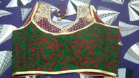 Braso Wool Net Handwork Blouse