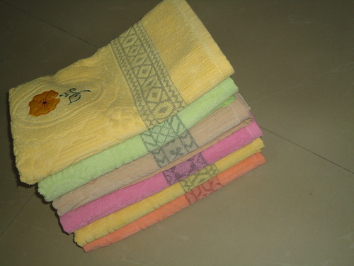 Special Border 100% Cotton Towel