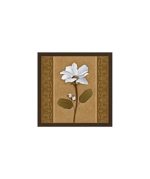 Square Floral Art Painting