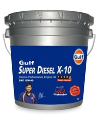 Gulf Super Diesel X Engine Oil