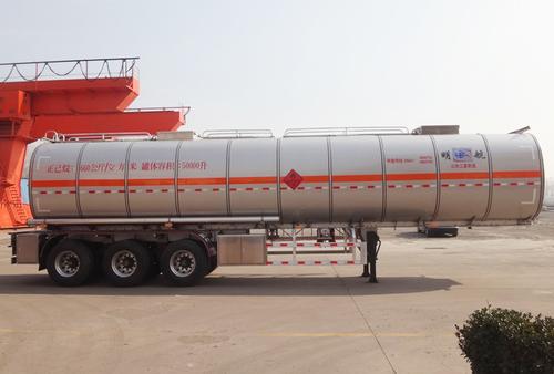 50 CBM N-hexane Tanker Trailer in  Handian Industrial Zone