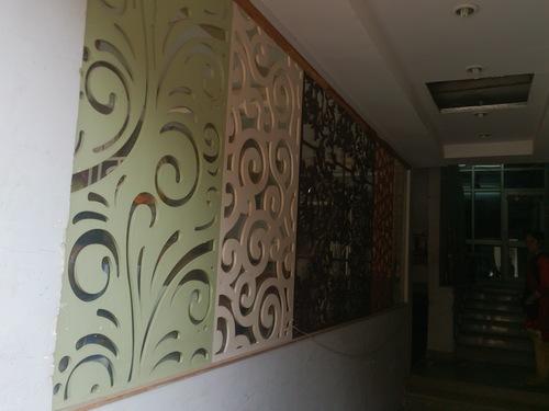 Designer Partitions Wooden Jali Varsatile 140 Whs Kirti Nagar