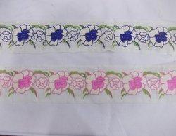 Cotton Embroidery Parsi Border Laces
