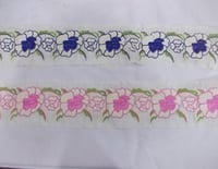 Cotton Embroidery Parsi Border Laces