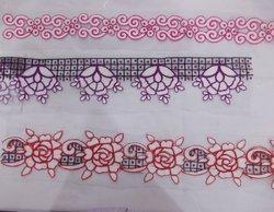 Embroidery Designer Stone Laces