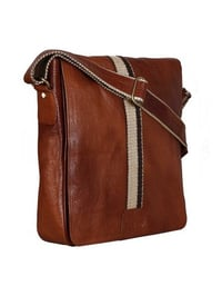 Multipurpose Genuine Leather Cross Body Tablet Sling Bag