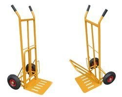 Handle Trolley with Pneumatic Tyre