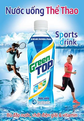 Green Top Sport Drinks