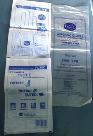 LDPE Poly Bags for Surgical Products