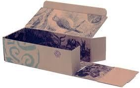 Printed Shoes Packing Boxes