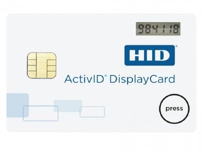 HID Activd Authentication Card