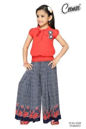c1d08f802 Indian Fancy Design Girls Plazo Dress in Solapur