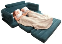 INFLATABLE DOUBLE PULL OUT SOFA CUM BED (INTEX)