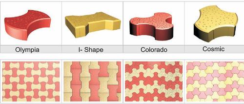 Interlocking Pavers Tiles
