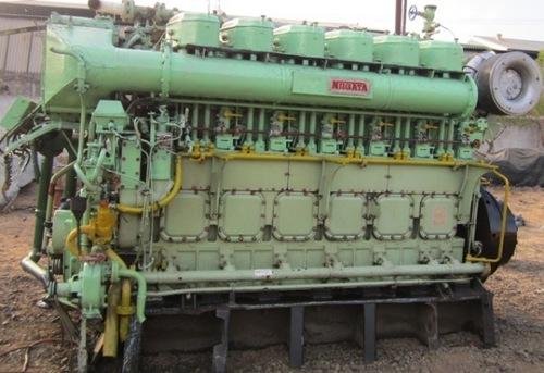 Niigata 6l 25 Cx Engine