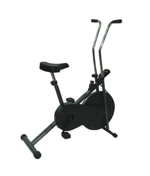 Exercise Bike With Cooling Fan Wheel
