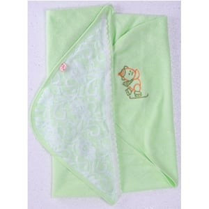 Embroided towel with Hood
