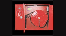 Manual Fire Fighting With High Pressure Wall Cabinets