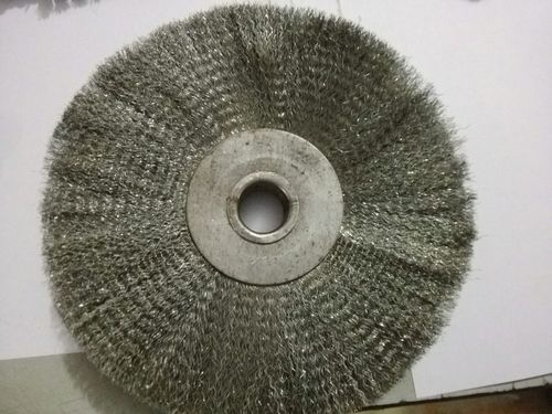 Wheel Brush GI Wire