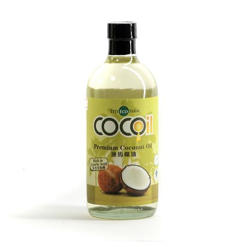 Premium Brain Tonic Organic Coconut Oil (Odorless)