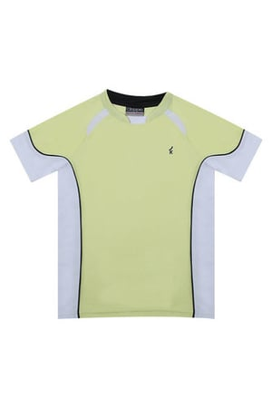 Lime Green Sporty T Shirt