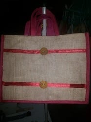 Handcrafted Jute Carry Bags