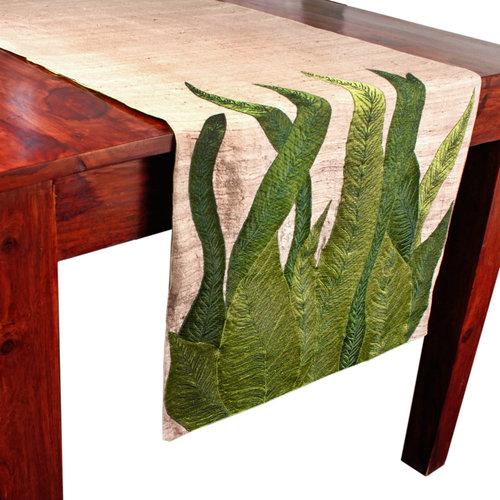 Raw Silk Table Runner In Jhandewalan