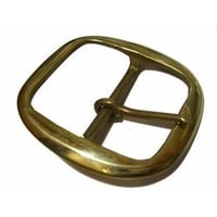 Solid Brass Belt Buckle