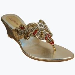 fe0566576b38bb Party Wear Wedges Ladies Sandal in Hyderabad