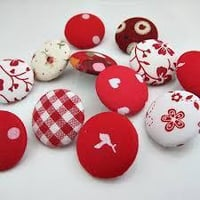 Cost-effective Fabric Covered Buttons