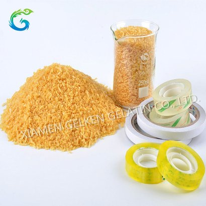 Industrial Grade Gelatin Cow Bone Glue