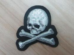 Skull Bone Bullion Badges - SHAHEEN ART SERVICES, 2318