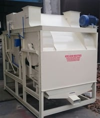 AUTOMATIC BARLEY SEED CLEANING MACHINE