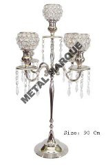 Attractive Design Metal Candelabras